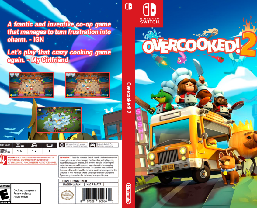 Overcooked! 2 Cover