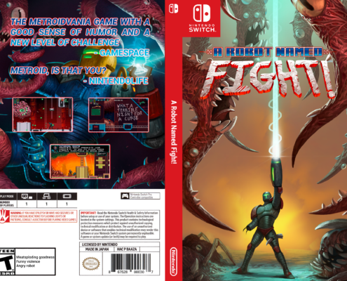 A robot named Fight Cover