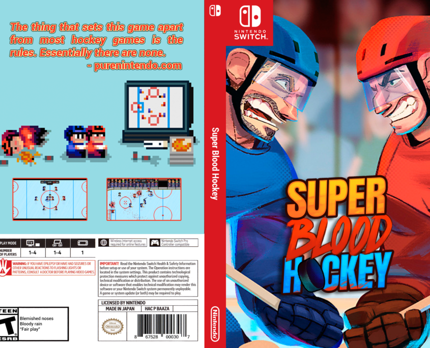 Super Blood Hockey Cover - New Logo