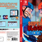 Super Blood Hockey Cover - Retro Logo
