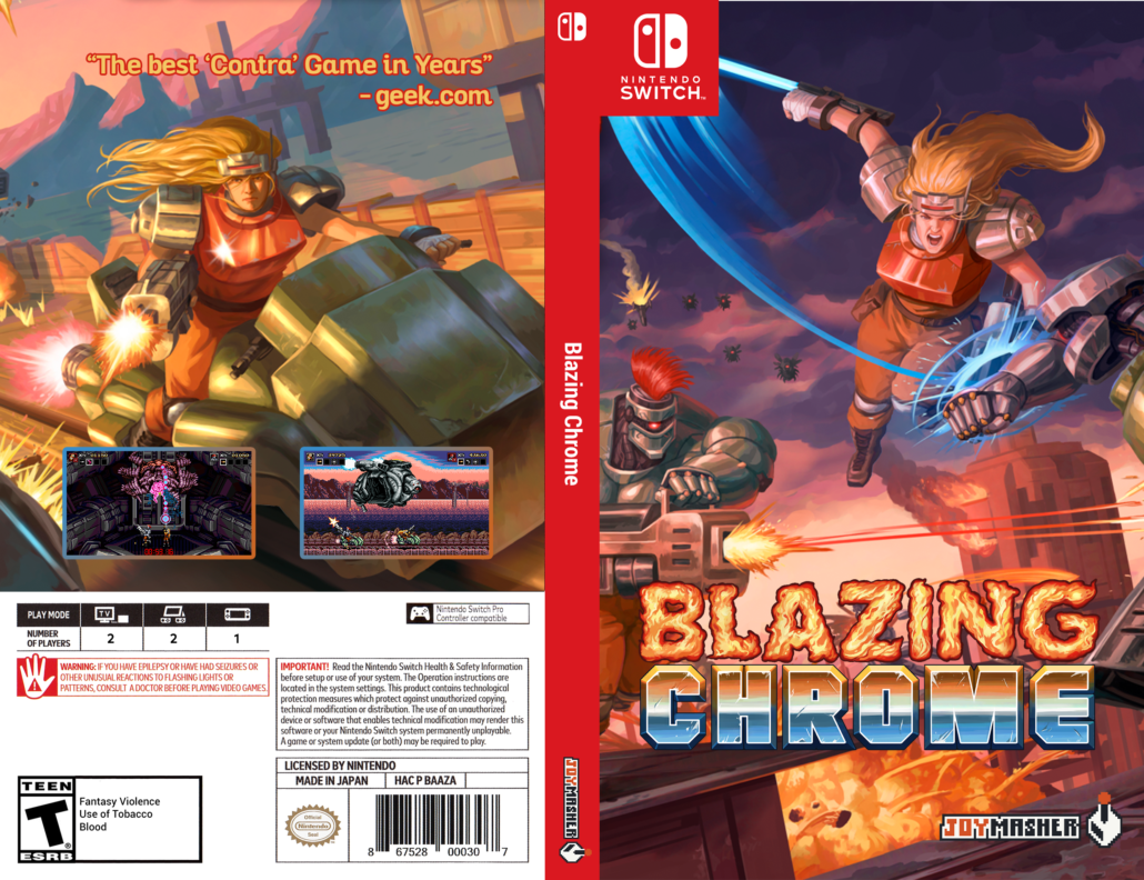 Blazing Chrome Switch Cover