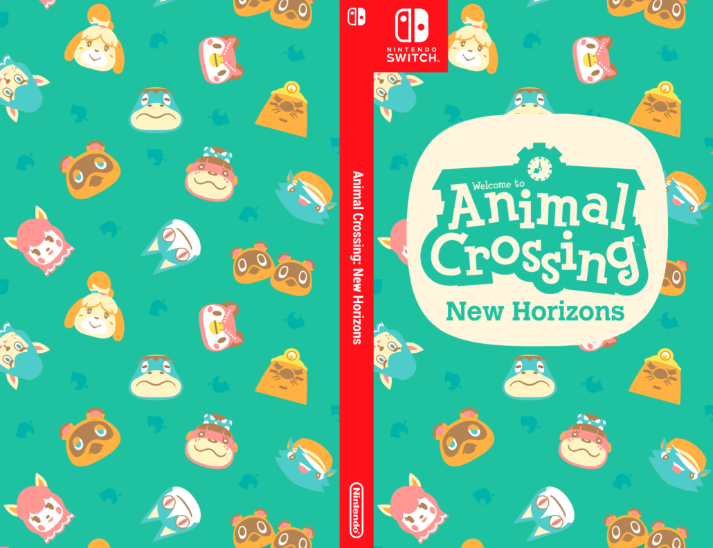 Aninal Crossing New Horizons Switch Cover