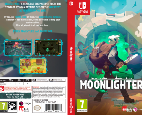 Moonlighter Switch Cover